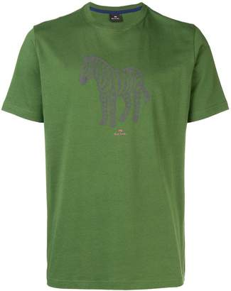 Paul Smith zebra print T-shirt
