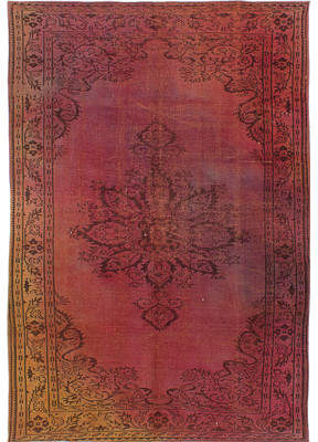 Ecarpetgallery One-of-a-Kind Hand-Knotted Pink/Purple Area Rug
