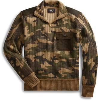 Ralph Lauren Camo Wool-Cashmere Sweater