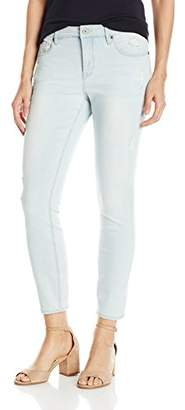 Miracle Body Women's Faith Ankle Jean with Tummy Control Technology