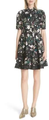 Kate Spade New York Botanical Poplin Shirtdress
