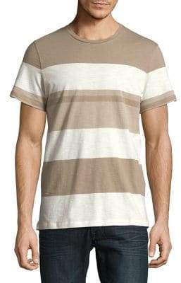 Selected Striped Cotton Tee