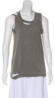 Chaser Cutout-Accented Sleeveless Top