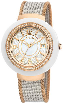 Alor Women's 43Mm Cavo Diamond Rope Watch