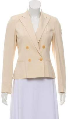 Ralph Lauren Black Label Structured Silk-Blend Blazer