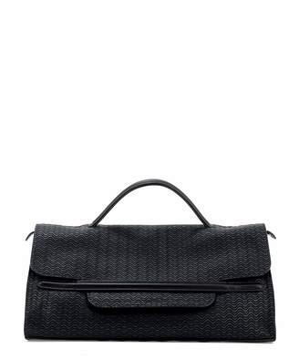 Zanellato Fold-Over Clutch Bag