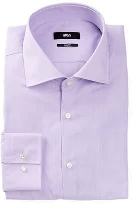 BOSS Jaron Long Sleeve Easy Iron Slim Fit Dress Shirt
