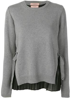 Twin-Set crew neck sweater
