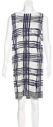 Balenciaga Sleeveless Silk Dress