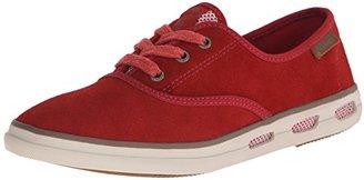 Columbia Women's Vulc N Vent Lace Suede Casual Shoe $60 thestylecure.com