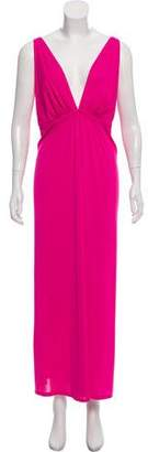 Natori Sleeveless Maxi Dress