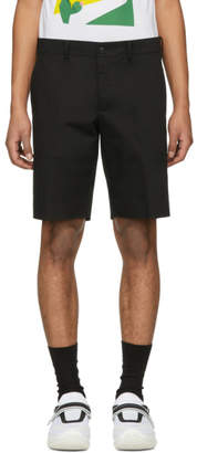 Prada Black Tailored Shorts