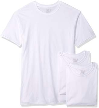 Fruit of the Loom Men`s 3pk Tall Man White Crew, FTL-2790TM, LT, White