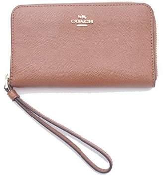 Coach Crossgrain Leather Phone Wallet