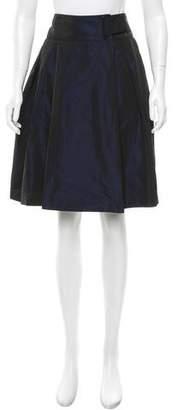 Akris Punto Flared Knee-Length Skirt