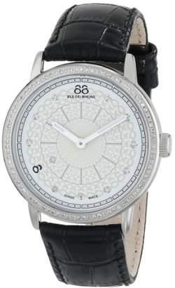 88 Rue du Rhone Women's 87WA120061 Analog Display Swiss Quartz Black Watch