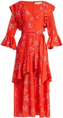 DAY Birger et Mikkelsen BORGO DE NOR Aiana dragon-print crepe dress