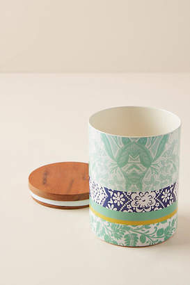 Anthropologie Jacquard Canister