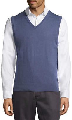 Claiborne V Neck Sweater Vest