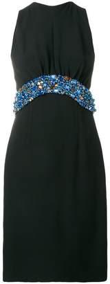 Prada embellished sleeveless dress