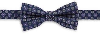 1670 Medallion Silk Bow Tie