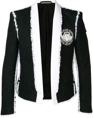 Balmain deconstructed blazer