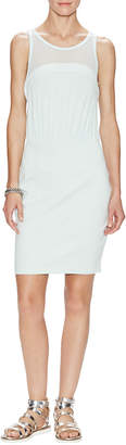 BCBGeneration Mesh Sheath Dress