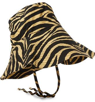 d74da891 Faithfull The Brand Tiger-print Cotton-canvas Bucket Hat - Zebra print