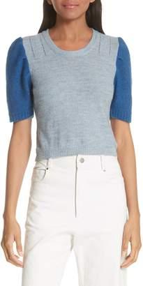 Rachel Comey Contrast Sleeve Sweater