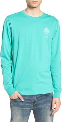 Saturdays NYC Diamond Spiral Long Sleeve T-Shirt