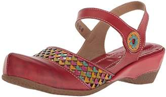 Spring Step L'Artiste by Women's Amour-Rd Wedge Sandal