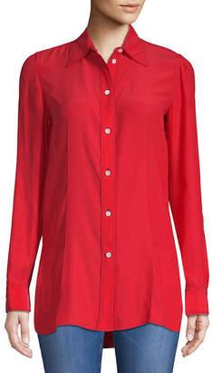 Celine Casual Silk Button-Down Shirt