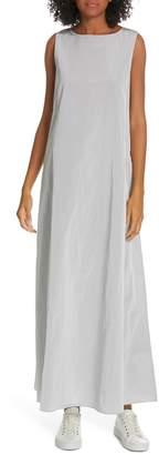 Theory Sleeveless A-Line Maxi Dress
