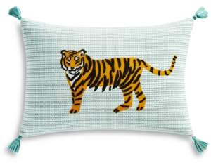 """Martha Stewart Whim by Collection Tiger 14"""" x 20"""" Decorative Pillow, Created for Macy's Bedding"""