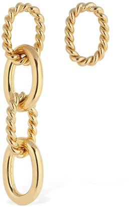 Isabel Lennse MISS MATCHED CHUNKY TWISTED EARRINGS