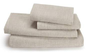 Lino Linen 300 Thread Count Fitted Sheet