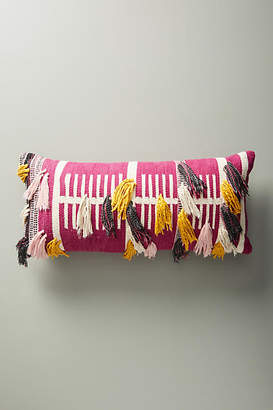 Anthropologie Woven Janet Pillow