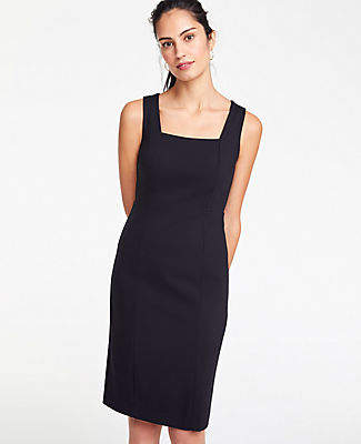 Ann Taylor The Tall All-Day Ponte Dress
