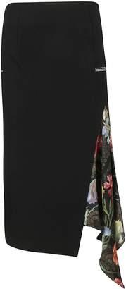 Off-White Off White Asymmetric Skirt