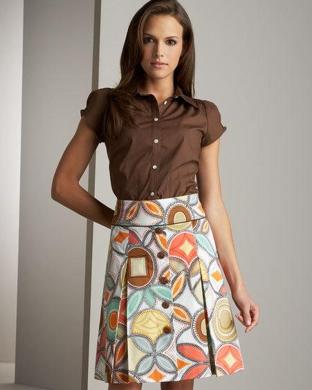 NM Exclusive Printed Skirt