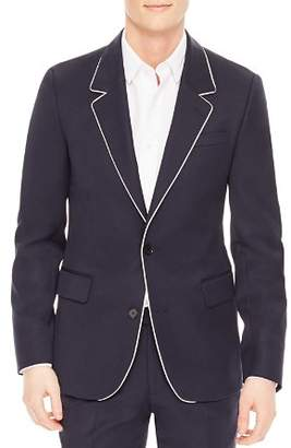 Sandro Notch Slim Fit Cocktail Jacket