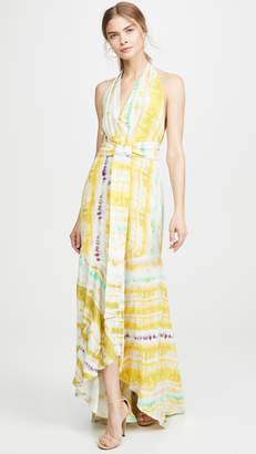 Silvia Tcherassi Ardell Tie Dye Dress