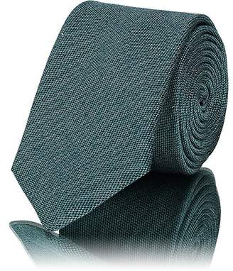 Barneys New York Men's Textured Silk-Cotton Necktie
