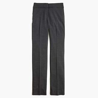 J.Crew Petite Edie full-length trouser in Italian two-way stretch wool