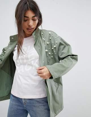 Asos Design Pearl Jacket