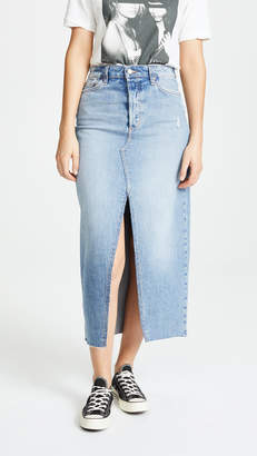 Joe's Jeans Elliza Long Denim Skirt