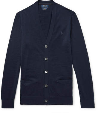 Polo Ralph Lauren Slim Fit Merino Wool Cardigan