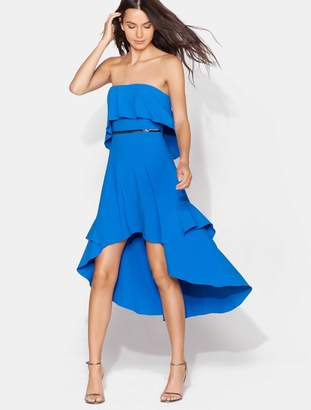 Halston Flowy Embellished Dress