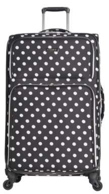 Heritage Luggage Polka Dot 28-Inch Checked Luggage