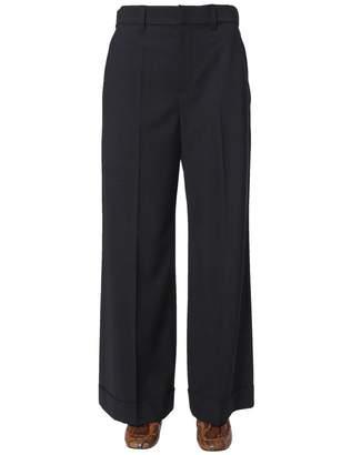 Brunello Cucinelli Oversized Flared Trousers